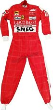 Gilles Villeneuve SMEG Red Printed go kart race suits,in all Sizes