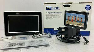 "PC Line 7"" Digital Photo Frame Boxed D11"