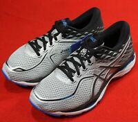 Asics Gel-Cumulus 19 Running shoes Grey/Black/Blue [T7C0N-9690] Mens Medium/Wide