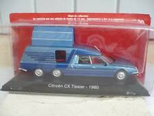 VÉHICULE CITROEN CX CAMPING TISSIER  COLLECTION ALTAYA 1/43 NEUF SOUS BLISTER