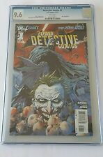 Detective Comics #1, New 52, CGC 9.6, DC, 2011