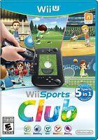 Wii Sports Club [Nintendo Wii U, NTSC, Tennis Bowling Golf Baseball Boxing] New