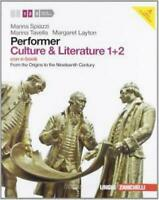 performer Culture & Litterature 1+2+CD ZANICHELLI Spiazzi/Tavella 9788808196927