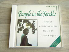 newage CD meditation *EX* TEMPLE IN THE FOREST David Naegele HEALING ambient 80s