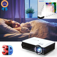 7000 lumens 3D Projector Home Multimedia Player 1080P Vga Hdtv Usb Interfaces Us