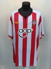 Southampton FC 2011/2012 Home Football Jersey Saints Umbro Soccer Shirt Size 4XL