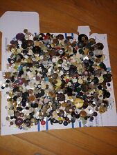 Huge lot of vintage sewing buttons 3 pounds