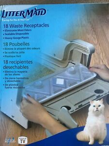 New LitterMaid Disposable Waste Receptacles-As Seen TV-18 Count Sealed LMR300