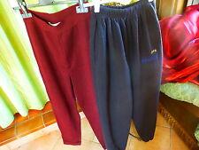 lot pantalons  femme T40-42 noir et bordeaux