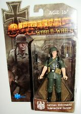 1:18 OURWAR Tieka WWII WW2 German Wehrmacht MP40 Submachine Gunner Action Figure