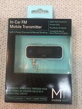 Mobile Tech In-Car FM Mobile Transmitter CVS-FM35-BLK New in Box