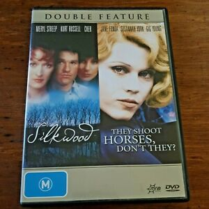 Silkwood/ They Shoot Horses, Don't They? DVD R4 Like New! – FREE POST