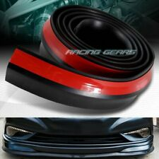 UNIVERSAL JDM 2.5M X 65MM BUMPER LIP SIDE SKIRT RUBBER EDGE DECORATIVE PROTECTOR
