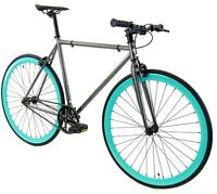 Golden Cycles Fixed Gear Single Speed Bike Bicycle Aquarius - 45 48 52 55 59 CM
