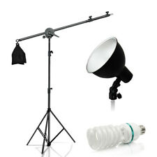 Lusana Studio Photography Boom Light set Hair Lighting Kit w/ photo bulb