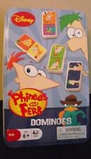 Phineas and Ferb Dominoes in Collectible Tin