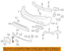 ACURA HONDA OEM Rear Bumper-Bumper Cover Nut 90675SA5003