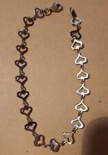 Less than 18cm Chain Yellow Gold Fine Bracelets