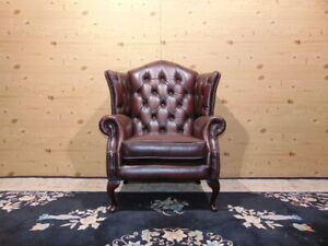 Chesterfield Chair Brown