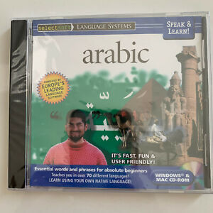 Speak & Lean! Arabic - PC/MAC *** BRAND NEW ***