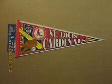 Mlb St.Louis Cardinals Vintage Bat Ball & Glove Logo Baseball Pennant