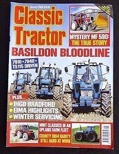 Classic Tractor, January 2009, Basildon Bloodline- 7810, 7840, TS115 Driven,