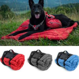 Outdoor Dog Bed Blanket Portable Cushion Mat Waterproof Fordable seasonal campin