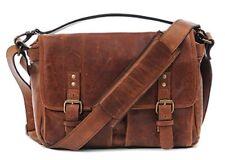 "ONA Handcrafted Italian Leather ""Prince Street"" DSLR Camera Bag, Antique Cognac"