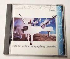 ELTON JOHN Live in Australia (CD, Jun-1987, MCA/BMG DIRECT ) POP ROCK
