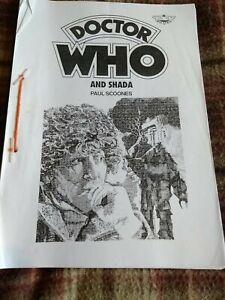 Doctor Who TSV Printed Pamphlet: Shada