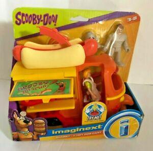 Scooby Doo Imaginext Shaggy and Hot Dog Cart Set NIB