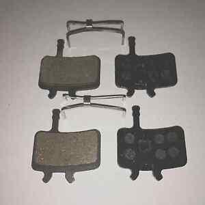 2 Pairs - Avid Juicy 3 5 7 BB7 Semi Metal Resin Disc Brake Pads