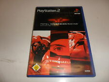 PLAYSTATION 2 PS 2 Total Immersion Racing