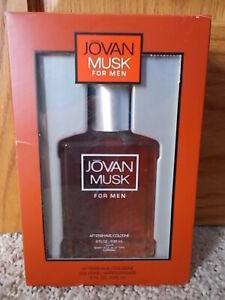 NEW! JOVAN MUSK FOR MEN By Coty After Shave Cologne Splash 8 fl. oz. 236 ml NIB