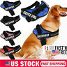 Dog Harness No Pull Adjustable Soft Vest Padded Heavy Duty New K9 Service Patch