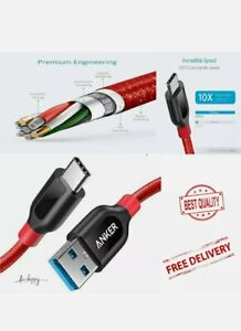 Usb-C To Usb Cable Powerline+ (3ft/0.9m) High Lightning Charger Anker new
