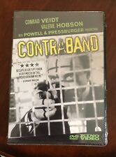 Contraband (DVD, Kino Video, 2001) NEW & SEALED