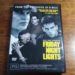 Friday Night Lights DVD R4 Like New! FREE POST EXRENTAL