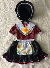 Girls St Davids Day Traditional Welsh Fancy Dress Costume dydd gwyl dewi 2-3 Yrs