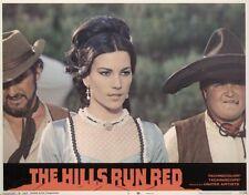 Hills Run Red, The 11x14 Lobby Card #3