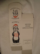 "HAMM'S BEER ""SANTA'S HELPER"" FIGURINE BOX ONLY (1)"