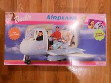 Vintage Barbie Blue Airplane Jet Plane with Microphone Original Box NEW NRFB