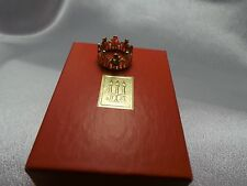 JAMES AVERY 14K YELLOW GOLD CHILDREN AT SCHOOL  RING ***RETIRED***