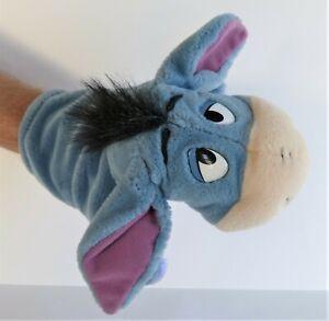 Fisher Price Disney Eeyore Plush Soft Toy Glove Hand Puppet 20 cm