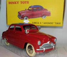 "Dinky Toys 24 UT Simca 9 ""Aronde"" Taxi OVP Box Norev Atlas Mattel Vintage TOP"