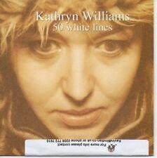 (AE163) Kathryn Williams, 50 White Lines - DJ CD
