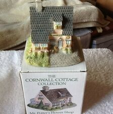 "The Cornwall Cottage Collection ""Mr.Potter's Flower Shop"" Bh15. Mib! Pretty"