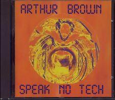 ARTHUR BROWN-Speak No Tech  Rare UK Voiceprint CD