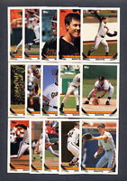 1993 Topps Baseball San Francisco Giants TEAM SET w/Traded
