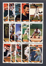 1993 Topps Baseball San Francisco Giants TEAM SET (29) w/Traded